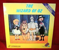 Laserdisc {y} * The Wizard Of Oz * Very Rare Cartoon~ LV 2322