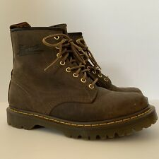Dr. MARTIN AIRWAIR BOOTS Men's size 10 Brown Leather New Without Box Vietnam