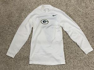 Nike Green Bay Packers Dri-Fit On Field Team Issued Player Worn Used Shirt XL