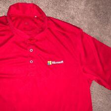 Lg Microsoft Engineering Windows Shirt Golf Polo Employee Uniform Work EUC