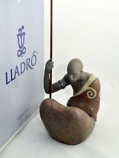 LLADRO FIGURINE # 12474 AFRICAN MAN NEW IN BOX