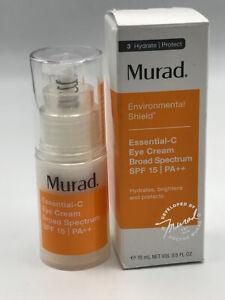 Murad Essential-C Eye Cream SPF 15 0.5oz / 15ml READ EXP 03/21