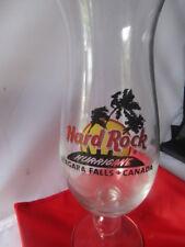 Hard Rock Cafe Niagara falls Canada Hurricane Glass