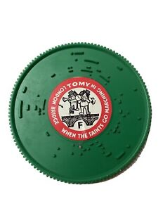 Tomy Tuneyville Choo Choo Replacement Record Disc  Green Down By The Station