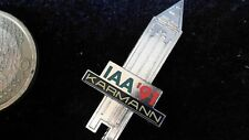 Karmann Anstecknadel kein Pin Badge IAA Messeturm 1991 Frankfurt Sammler