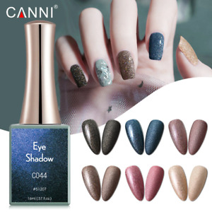 CANNI Nail Gel Polish UV LED EYESHADOW SERIES Shimmer Varnish Soak Off 16ML