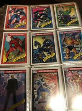 1990 Marvel Comics Cards 1.5 FULL SETS Entertainment Super Heroes #1-162