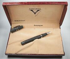 "Visconti fountain pen Homo Sapiens Steel Midi with 23 k / 950 Palladium  nib ""F"""