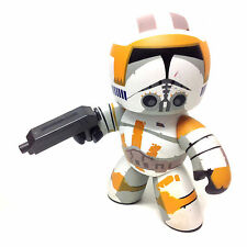 """STAR WARS Mighty Muggs CLONE COMMANDER CODY 6"""" toy figure, unboxed"""