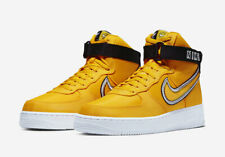 Nike Air Force 1 High University gold black white hi top men's all sizes ds