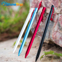 5Pcs 9 Inch Aluminum Alloy Outdoor Camping Trip Tent Peg Ground Nail Stakes
