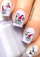 Weihnachtswichtel NailArt Sticker Aufkleber  Nageldesign Tattoo 973