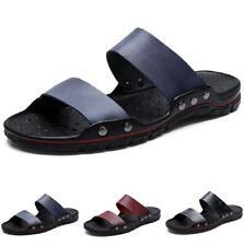 38-48 Mens Beach Slingbacks Slippers Shoes Cut out Flats Walking Sports Casual B