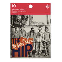 TRAGICALLY HIP = Recording Artists = Booklet of 10 Canada 2013 #2656a(BK543) MNH