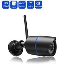 2MP 1080P Wireless IP Camera Waterproof IR Cut Outdoor H.264 Monitoring ONVIF