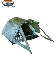 Elite Green 2 Person Lightweight Tent Twin Skin Shelter Bivi Camping Fishing