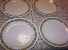 CORELLE CRAZY DAISY PATTERN 8-1/2 INCH LUNCHEON PLATES