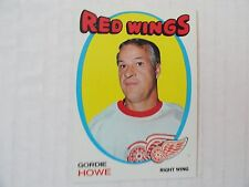 Gordie Howe 1971/72  NEAR MINT SHE`S A BEAUTY!!!!  VINTAGE Detroit Red Wings