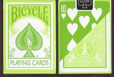 Bicycle Fashion Green Playing Cards Deck New