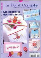 oop French cross stitch magazine Le Point Compte Bebe No.31 point de croix
