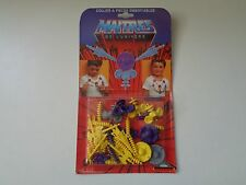 MASTERS OF THE UNIVERSE DELAVENNAT NECKLACE FRANCE MOTU MOC SEALED CARD he man