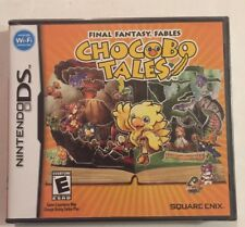 Brand New Final Fantasy Fables: Chocobo Tales (Nintendo DS, 2007)Fast Free Ship