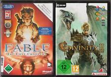 DIVINITY 2 II EGO DRACONIS + Fable The Lost Chapters Sammlung PC Spiele