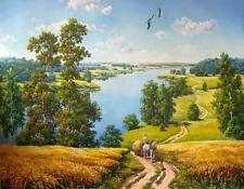 Paint By Numbers - Farm Countryside