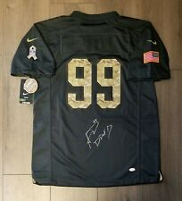 Aaron Donald Autographed Signed Authentic Nike Jersey Los Angeles Rams JSA