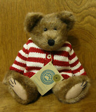 "Boyds Plush #912045 WALDO BEARSWORTH, 11"" NEW/Tag From Retail Store Jointed Bear"