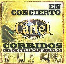 Cartel De Sinaloa : En Concierto Corridos Desde Culiacan Sin CD