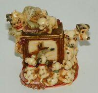 Disney Figurine Harmony Kingdom Small Exclusive 101 Dalmatians LE 2002 WDWR101