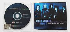 BACKSTREET BOYS Shape Of My Heart 2000 CD Single Slim POP EURO DANCE