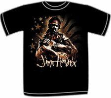 JIMI HENDRIX ~ ZONE FLAG zr BLACK T-SHIRT ~ XXL