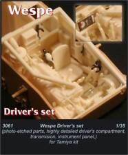 Czech Master 1/35 Wespe driver's set for Tamiya kit # 3061