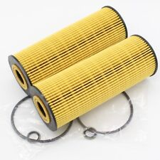 (Set Of 2) Oil Filter Kit 1041800109 for Mercedes W140 R170 W202 W124 W129