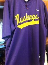 Mustangs Nike Gold Purple Mesh Jersey Xl #32 Football basketball baseball