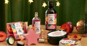 The Body Shop Love And Plums Shower Gel, Body Mist Body & Lip Butters, Bath Bomb
