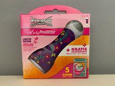 20x Wilkinson Sword Lady Protector Rasierklingen +Rasierer Neu Original verpackt