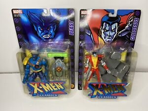 VINTAGE TOY BIZ MARVEL 2000 COLOSSUS Beast  FIGURE X-MEN CLASSICS Lot