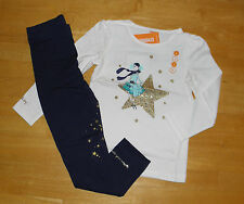 NWT GYMBOREE FLIGHT OF FANCY WHITE GLITTER TOP STAR LEGGINGS  GIRLS 4 FALL