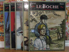 LE BOCHE T1 à 5 / STALNER & BARDET / DEDICACES / GLENAT / EO / TBE