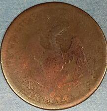 1814 Upper Canada Half Penny Eagle  Token   ID #95-6