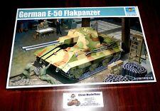 WWII german Tank Panzer E-50 Flakpanzer  1:35 Trumpeter 01537  Neu