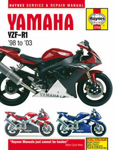 Yamaha YZF-R1 (98 - 03) Haynes Repair Manual