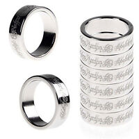 1pc 20mm Magic Strong Magnetic Ring Finger PK Magician Trick Props Show Tool NT