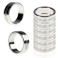 1pc 20mm Magic Strong Magnetic Ring Finger PK Magician Trick Props Show Tool 7N