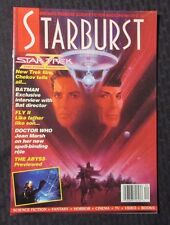 1989 Marvel Comics STARBURST Magazine #133 VF Star Trek The Final Frontier
