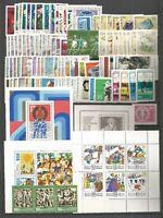 DDR   1974  Postfrisch plus alle Einzelmarken und allen ZD- Varianten