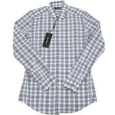 4104I camicia uomo DOLCE & GABBANA D&G gold manica lunga shirts men